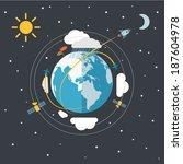 continente,dirección,vuelo,previsión,guía,luna,plano,cohete,esquema,estrellas,trayectoria,vacaciones,viaje