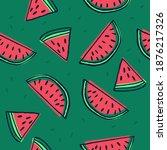 seamless vector pattern. sliced ... | Shutterstock .eps vector #1876217326