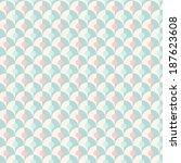 seamless simple retro... | Shutterstock . vector #187623608