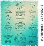 summer label for print for t...   Shutterstock .eps vector #187640243