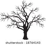 tree vector | Shutterstock .eps vector #18764143