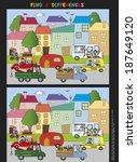 game for children  find eight... | Shutterstock . vector #187649120