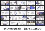 vector presentation templates.... | Shutterstock .eps vector #1876763593