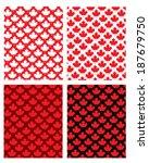 Canadian Maple Leaf Pattern Set ...