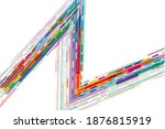 modern abstract background of... | Shutterstock . vector #1876815919