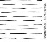 grunge broken lines vector... | Shutterstock .eps vector #1876840456