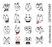 face expression isolated vector ... | Shutterstock .eps vector #1876994389