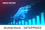 concept art of bullish in... | Shutterstock .eps vector #1876999603