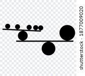 vector concept of balance... | Shutterstock .eps vector #1877009020