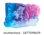 vector blue  purple pink paint... | Shutterstock .eps vector #1877098639