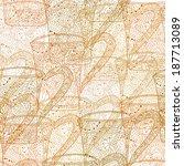 elegant seamless pattern with... | Shutterstock .eps vector #187713089
