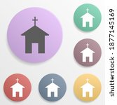 place of the church badge color ...