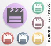 cinema place badge color set...