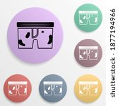 dirty underwear badge color set ...