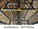 shingle roof in thai temple | Shutterstock . vector #187720316