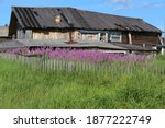 Old Rural Abandoned Wooden...
