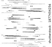 slim lines texture. parallel... | Shutterstock .eps vector #1877454256