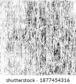rough black and white texture... | Shutterstock .eps vector #1877454316