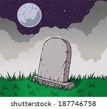 tombstone | Shutterstock .eps vector #187746758