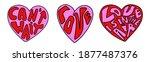 Set Of Vintage Valentines...
