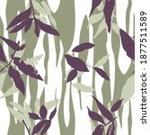 vector seamless pattern with... | Shutterstock .eps vector #1877511589