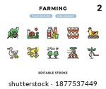farming filled icons pack for...