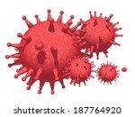 virus | Shutterstock . vector #187764920