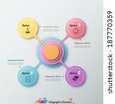 modern infographic option... | Shutterstock .eps vector #187770359