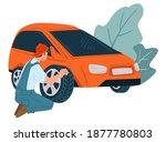 mechanics service or shop... | Shutterstock .eps vector #1877780803