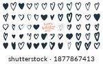 happy valentine's day...   Shutterstock .eps vector #1877867413