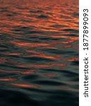 Orange Sunset Sunrise Ocean...