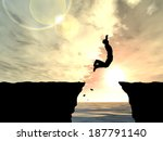 3d illustration of concept or... | Shutterstock . vector #187791140