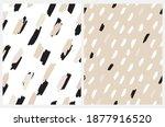 abstract animal skin print.... | Shutterstock .eps vector #1877916520