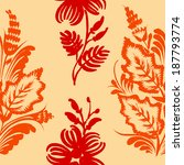 seamless floral pattern | Shutterstock .eps vector #187793774