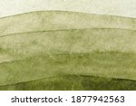 Abstract Art Background Green...