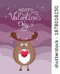 Cute Deer  Valentine's Day...