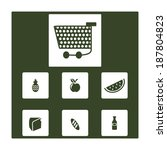 set_of_supermarket_items_icons | Shutterstock .eps vector #187804823