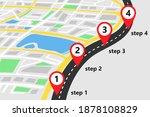 infographics template. road... | Shutterstock .eps vector #1878108829
