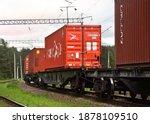 Cargo Containers Hambur Sud...