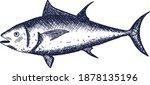 fish illustration for use in...   Shutterstock .eps vector #1878135196