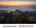 Beautiful Misty Mountain...