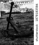 Old Rustic Anchor Left At The...