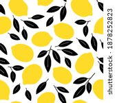 tropical seamless pattern with...   Shutterstock .eps vector #1878252823