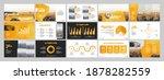 vector presentation templates.... | Shutterstock .eps vector #1878282559