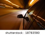Night Drive With Car In Motion...