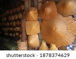 Traditional Folk Hat In Thai...