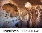 Ancient Cave Interior In...