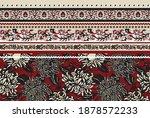 seamless flower border tile... | Shutterstock .eps vector #1878572233