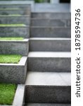 Neat And Tidy Grey Stair Steps...