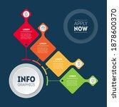 4 steps vector infographic of...   Shutterstock .eps vector #1878600370